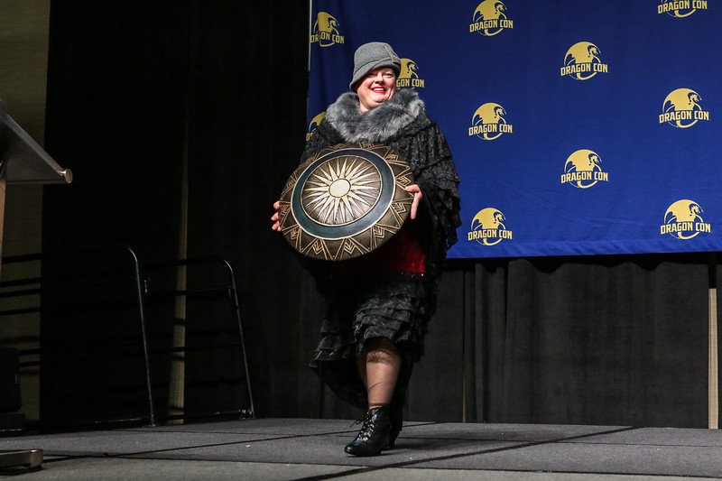 Tony Gowell at The Masquerade at DragonCon 2017