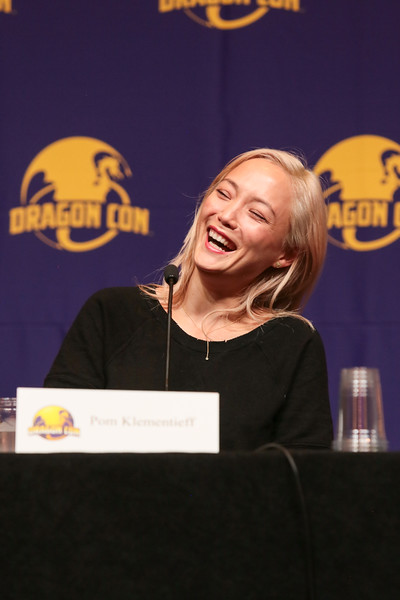 Marvel Cinematic Universe (MCU) Cast: Chosen Family with Karen Gillan, Tony Gowell, Pom Klementieff, and Benedict Wong at DragonCon 2018