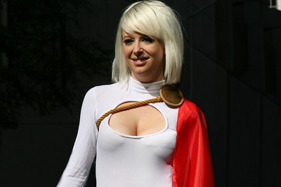 Power Girl at Dragoncon 2010