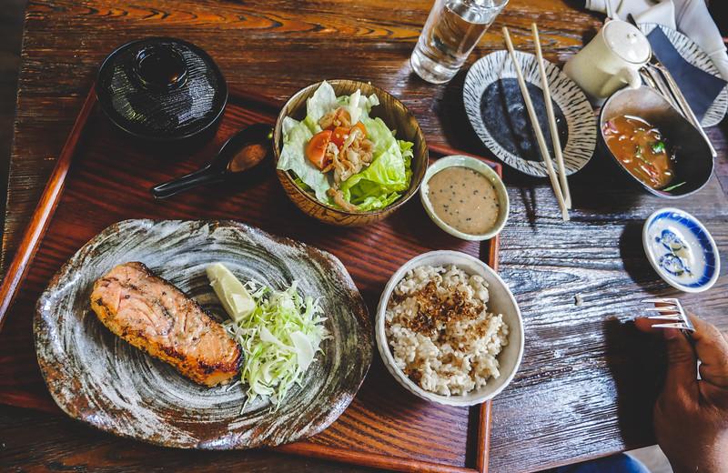 Robata Grilled Miso Salmon