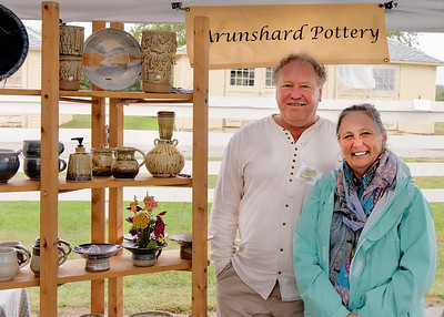 Bill Spaulding & Diane_Laudholm Nature Crafts Festival_Sept 13, 2015