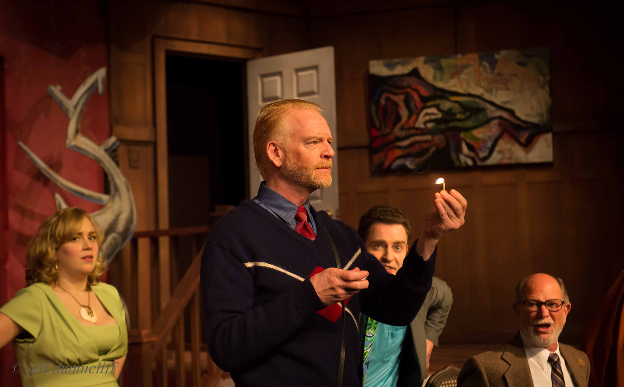 Steffon Moody Directs Black Comedy by Peter Shaffer