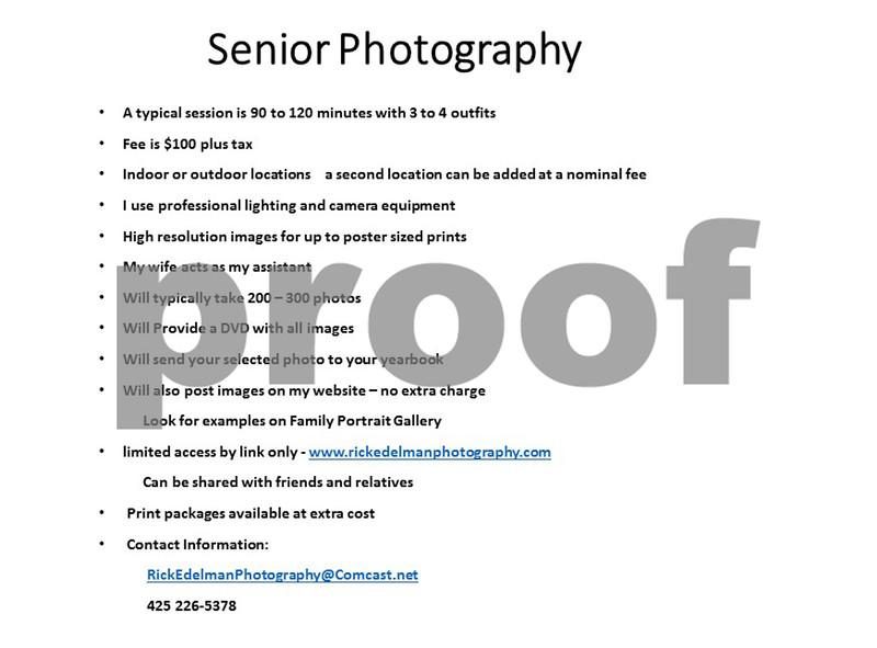 Seniors Portraits