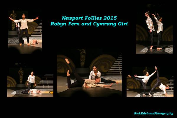 Robyn Fern and Cymrang Giri