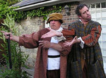 Paul Sharpe as Verges and Geoffrey O'Keeffe as Dogberry