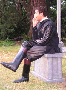 Basil Ashmawy as Don Pedro, Prince of Aragon