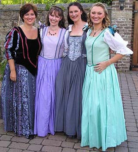 Hilary Madigan (Ursula), Claire Reilly (Hero), Joanne Keane (Margaret) and Antoinette Fahey (Beatrice)