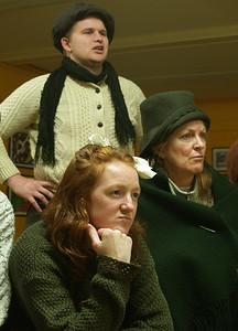 Bartley (John O'Brien) with Helen (Judy McKeever) and Eileen (Anne Lucas)