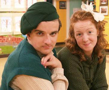 Cripple Billy (Oran O'Rua) and Helen (Judy McKeever)