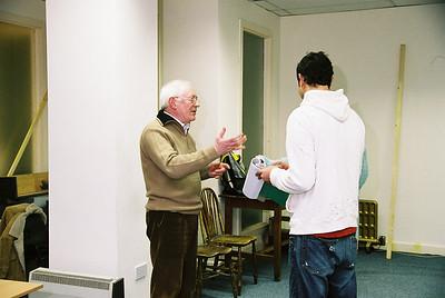 Brian de Salvo with Basil Ashmawy