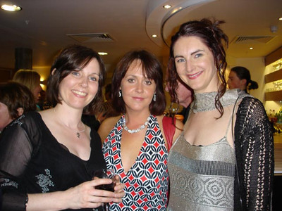 Claire, Ciara, Joanne at the Gala Reception on Opening Night