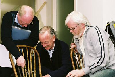 Paul Macken, Michael Doyle and Tom Ronayne