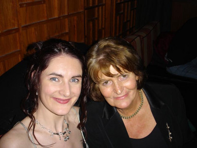 Joanne Keane and Margaret Toomey at the Gala Reception on Opening Night