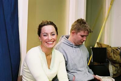 Niamh Daly and John O'Brien