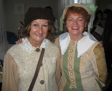 Muriel Caslin O'Hagan (Florizel) & Mary Ryan (First Lady – banished)