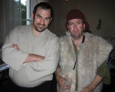 Cathal Kilcline (William) & Dominic Lavin (Corin)