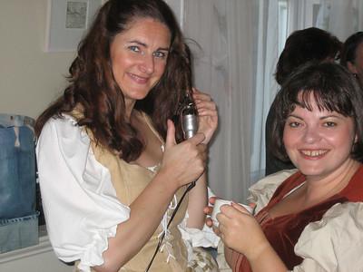 Joanne Keane (Phebe, shepherdess) & Karina Steffans (Chorus)