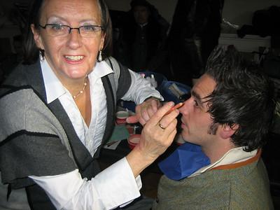 Teresa Dempsey (make up) & Ciaran Dwyer (Orlando De Boys)