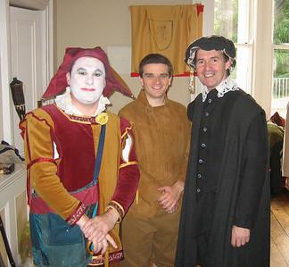 Kevin Fahey (Touchstone), Oran O'Rua (Silvious) & Declan Brennan (Jaques)
