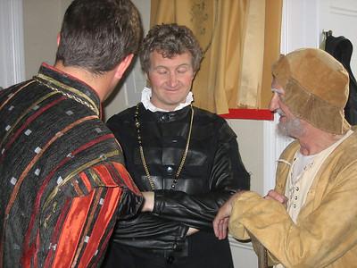 Francis Cahill (Rev.Oliver Martext, a country vicar) & Jim Carroll (Adam, retainer to De Boys)