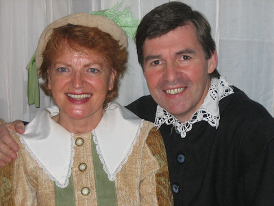 Mary Ryan (First Lady) & Declan Brennan (Jaques)