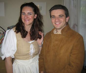 Joanne Keane (Phebe Shepherdess) & Óran O'Rua (Silvious, the shepherd)