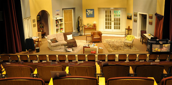 The set at the Mill Theatre.