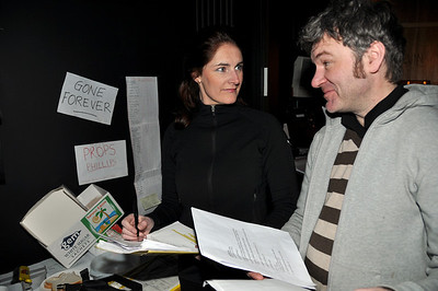 Joanne Keane and Fergal Cleary