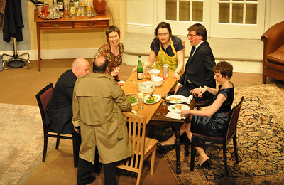 Brian Molloy, Claire Reilly, Orla Hegan, Sean Murphy, Claire O'Donovan and Kevin Fahey (with back to camera)