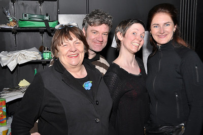 Doris Cullen, Fergal Cleary, Claire Reilly and Joanne Keane
