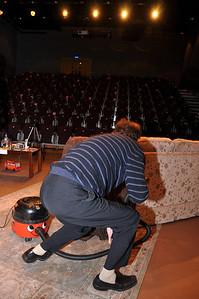 Stage Manager, Bernard Doyle.