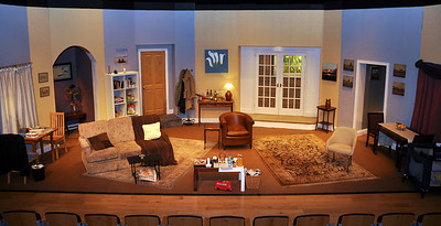The set at the Mill Theatre