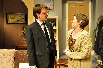 Sean Murphy (as William Featherstone) and Claire Reilly (as Mary Featherstone)