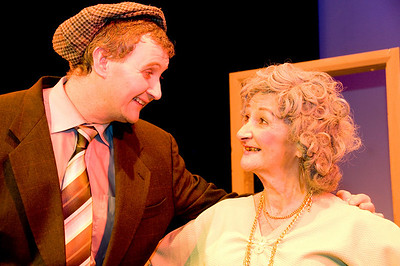 Francis Cahill (as Danger Mulally) and Muriel Caslin O'Hagan (as Kitty Curley)