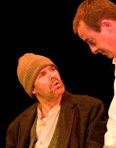 Declan Brennan (as Daheen Timmineen Din) and Len Nealon (as Tom Hannigan)