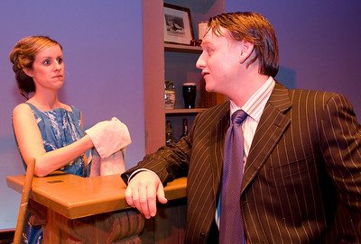 Jacqueline Dooley (as Peg Finnerty) and Joe McCarthy (as Kevin)