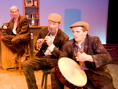 John Canning, Sean T Daly and Óran O'Rua