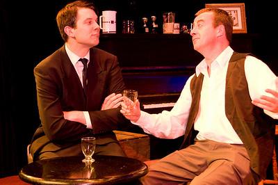 Evan Jameson (as Maurice Brown) and Len Nealon (as Tom Hannigan)