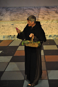 Friar Lawrence played by Michael Sharp