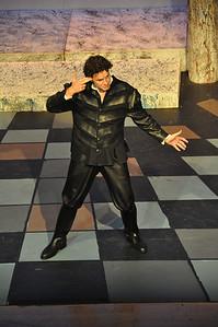Mercutio played by Gareth Murphy