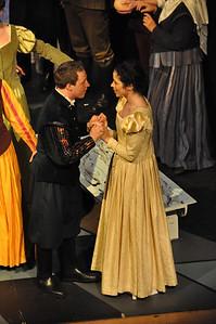 Romeo (Robert Hudson) and Juliet (Eilis O'Brien)