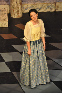 Juliet played by Eilis O'Brien in the Mill Theatre