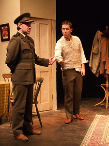 Fergal Clery as 'Captain Brennan' and Robert Webster as 'Jack Clitheroe'.