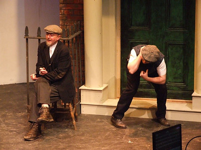 Peter Flood as 'Peter' and Oran O'Rua as 'The Covey'.
