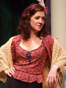 Judy McKeever as 'Rosie Redmond'.