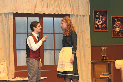 "2011 Fall Play: ""The Mousetrap"""