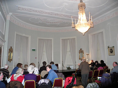 Performance space in Marlay House.
