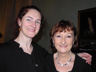 Joanne Keane, director, and Muriel Caslin-O'Hagan