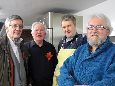 Michael Sharp, Lorcan Dunne, Francis Cahill and Brendan Dunne