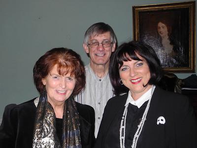Margaret Toomey, Michael Sharp and Hilary Madigan